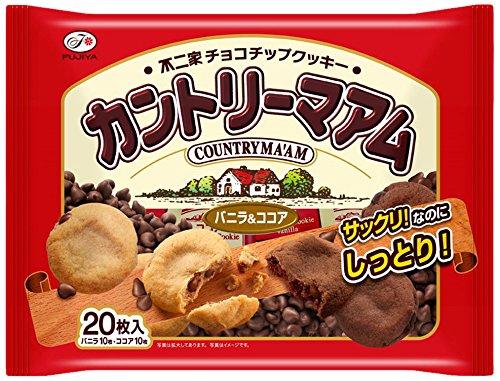 不二家 カントリーマアム(バニラ&ココア) 20枚×12袋