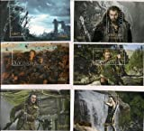 The Hobbit the Desolation of Smaug 6 Collectible Postage Stamps 2013 New Zealand