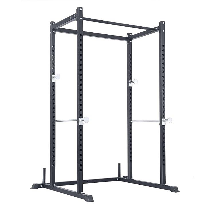 Atlas Power Rack Squat Deadlift Cage With Bench Racks