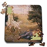 BLN Victorian Era Fantasy Fine Art Collection - Diana and Endymion by Walter Crane - 10x10 Inch Puzzle (pzl_127246_2)