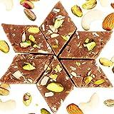 Diwali Gifts-Ghasitarams Sweets Chocolate Kaju Katli 200 Gms
