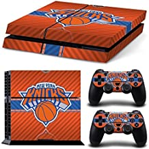 Elton New York Knicks Logo Theme 3M Skin Sticker Cover For PS4 Console And Controllers