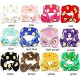 Set2(Pack Of 12) : Yeshan Baby Girl Multicolor Hair Hoops Headbands,Solid Bunny Ears,rabbit Bow Head Wrap,Pack...