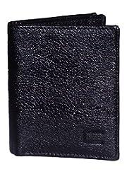 Cops Black Leather Card Holder CPSCHNDM2059BLK
