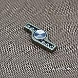 New Aluminum Alloy Hand Spinner Steel Ball EDC Finger Spinner Fidget Spinner (Army Green)