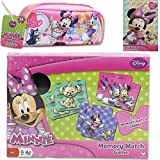 2-Piece Disney Jr. Minnie Mouse Holiday Game Gift Set For Kids - 1 Minnie Mouse Memory Match Game (7
