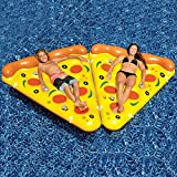 2 Swimline Pizza Slice Inflatable Swimming Pool Beach Raft Float Chair Toy (Out Of Stock Everywhere)