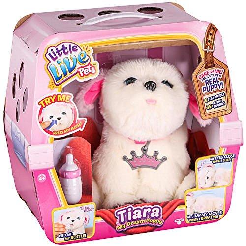 Little Live Pets Tiara Girl Dog My Dream Puppy Playset