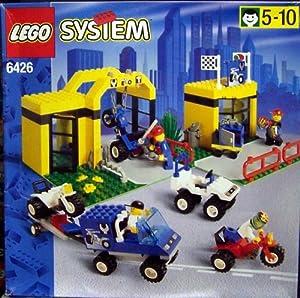 LEGO Grosse Motorrad-Werkstatt 6426: Amazon.de: Spielzeug