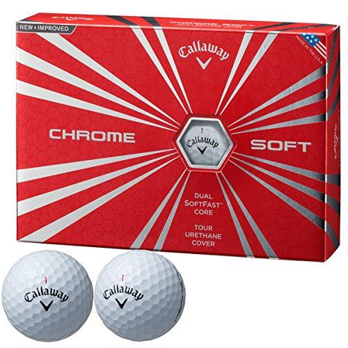 キャロウェイゴルフ CHROM SOFT ボール クロムソフト ボール 3ダースセット 3ダース(36個入り) ホワイト