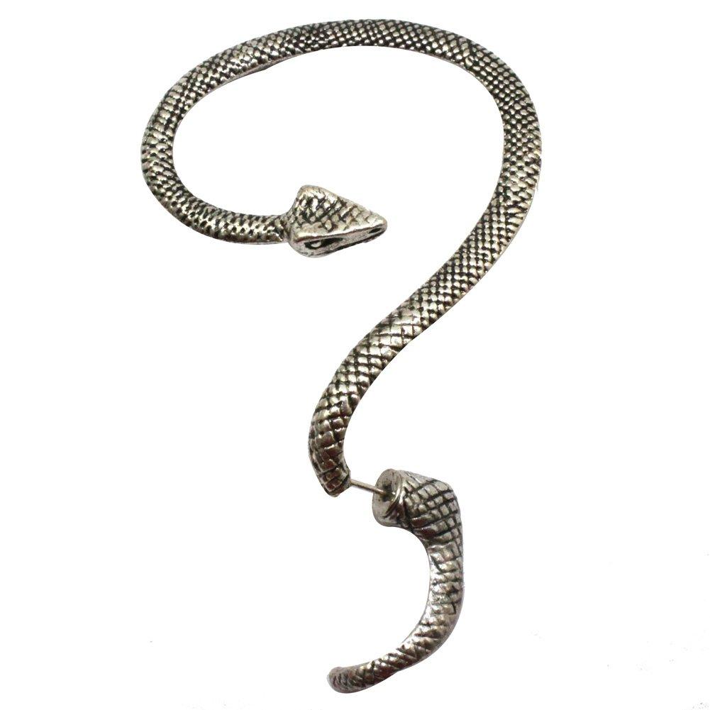 Amazon: Gothic Snake Earring $...