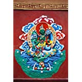 "Dolls Of India ""Green Tara In Dichen Choling Gompa - South Sikkim, India"" Photographic Print - Unframed (60.96..."