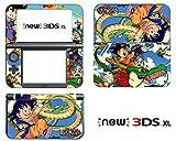 Vanknight Vinyl Decals Skin Sticker Classic Kid Goku for the New Nintendo 3DS XL 2015