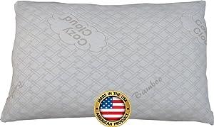 CozyCloud Bamboo Shredded Memory Foam Pillow