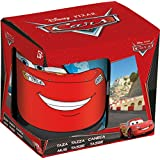 Disney Cars Ceramic Coffee Mug Set, 250ml, Set Of 3, Multicolour