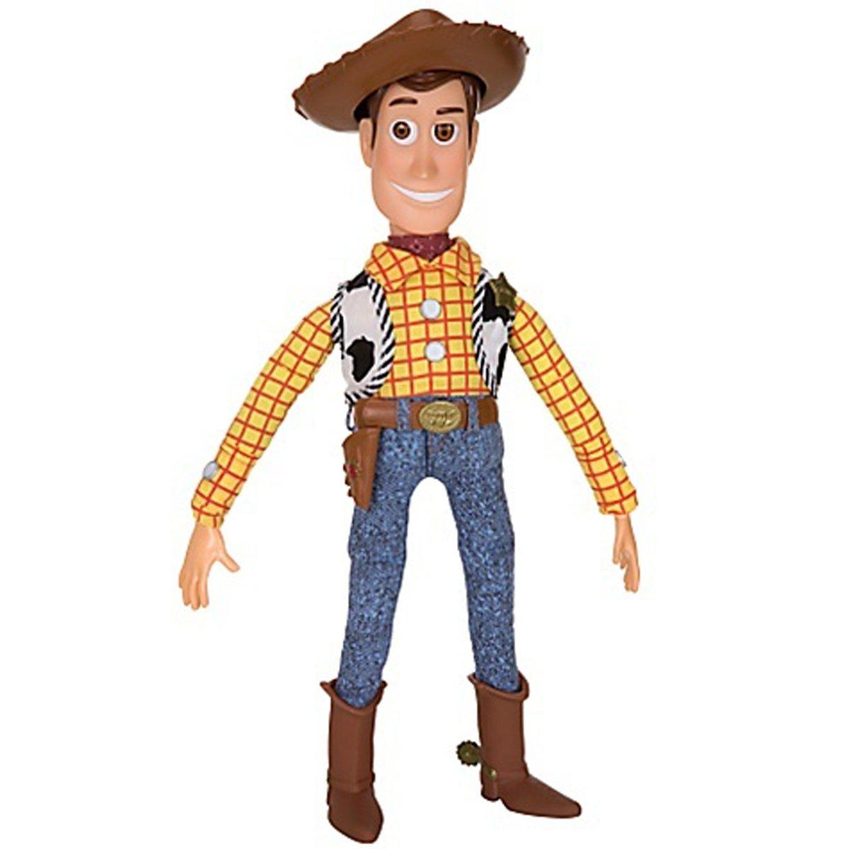 "Toy Story Pull String Woody 16"" Talking Figure - Disney ..."