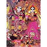 "Dolls Of India ""Sri Radha Govinda"" Reprint On Paper - Unframed (38.73 X 29.84 Centimeters)"