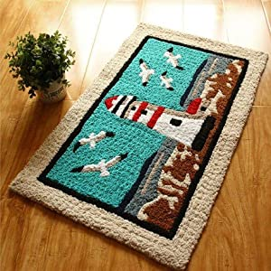 coastal kitchen rugs handmade rugs area rug coastal rugs 2281