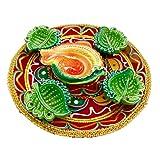 Luxury Gifts By Nikki Diwali Diyas In A Thali