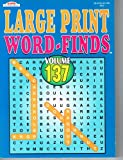 Large Print Word-Finds Two Volumes (See Seller Comments for Volumes) by Kappa