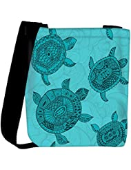Snoogg Seamless Pattern With Turtles Seamless Pattern Can Be Used For Wallpaper Womens Carry Around Cross Body...