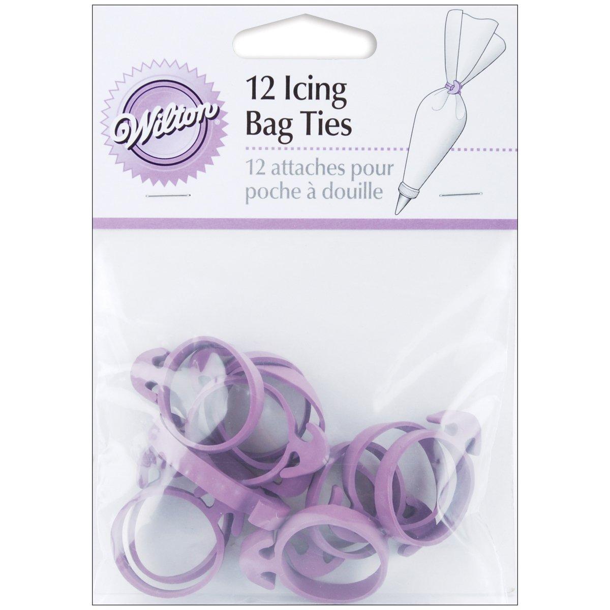 Wilton Icing Bag Ties 24 Count
