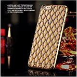 Delkart Premium Zig Zag Back Cover For Samsung Galaxy A3 (Golden) (This Cover Is Not For A3(2016)
