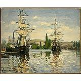 Vitalwalls Landscape Painting (Landscape-460-45, Canvas Print, 45 Cm X 36.8 Cm)