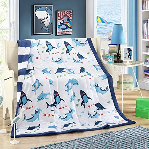 Shark Thin Cotton Quilt Comforter
