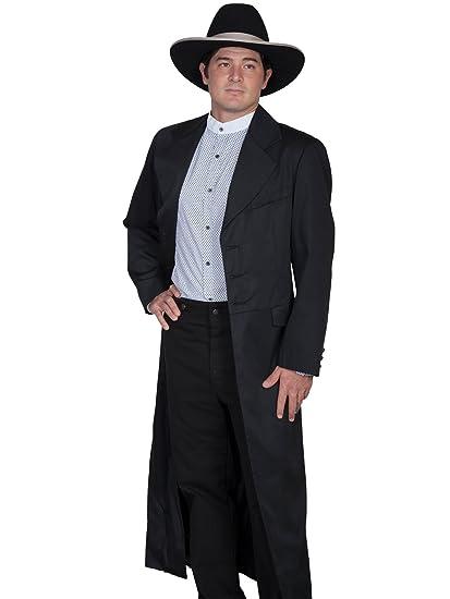 Victorian Mens Suits & Coats Ruffle Frock Coat Big And Tall  AT vintagedancer.com