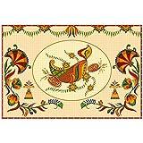 """Nish! Diwali Diya PVC Vinyl Wall Sticker Decal (18"""" W X 12"""" H)"""