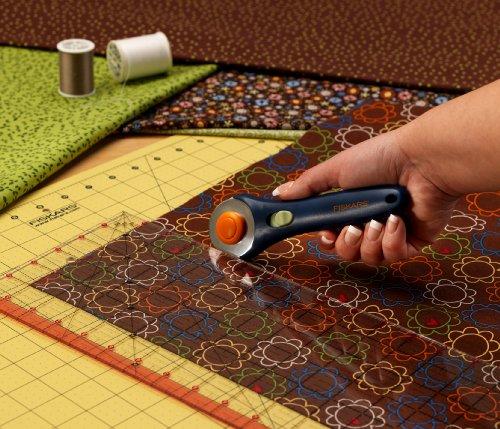 Fiskars Large Rotary Cutting Mat Set Cutter Clear Acrylic