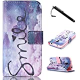 S4 Mini Case,Galaxy S4 Mini Case,Grey Clouds Top Quality TPU Leather Flip Wallet Protective Soft Skin Case With Magnetic Clasp For Samsung Galaxy S4 Mini I9190(Built-in Credit Card/ID Card Slot)