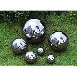 1pc 304 Stainless Steel Hollow Decoration Ball Metal Ball Smart Home & Garden Decoration Improvement (100mm)