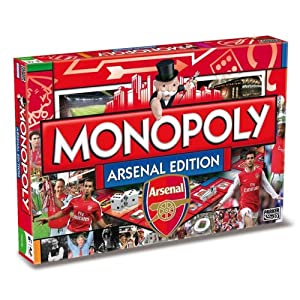 Click to buy Monopoly Arsenal FC edition from Amazon!