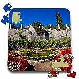 Danita Delimont - Gardens - Italy, Amalfi Coast, Ravello, Villa Rufolo Garden - EU16 TEG0511 - Terry Eggers - 10x10 Inch Puzzle (pzl_138320_2)