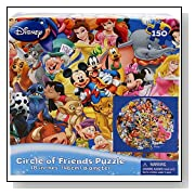 Disney Circle of Friends 150 Piece Puzzle