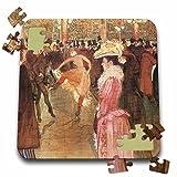 BLN Impressionist Fine Art Collection - Ball at the Moulin Rouge by Henri De Toulouse-Lautrec - 10x10 Inch Puzzle (pzl_127374_2)