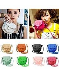 Altumcloud(Tm)On Sale! New 2015 Women Leather Handbags Mini Pu Leather Fashion Designer Bucket Vintage Shoulder...
