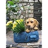 Wonderland The Dog In The Bag Flower Pot ( Gifting , Garden Planters , Pots )
