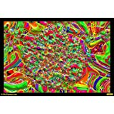 Dance Of Colours 05 Canvas Medium ( 46 In X 32 In )