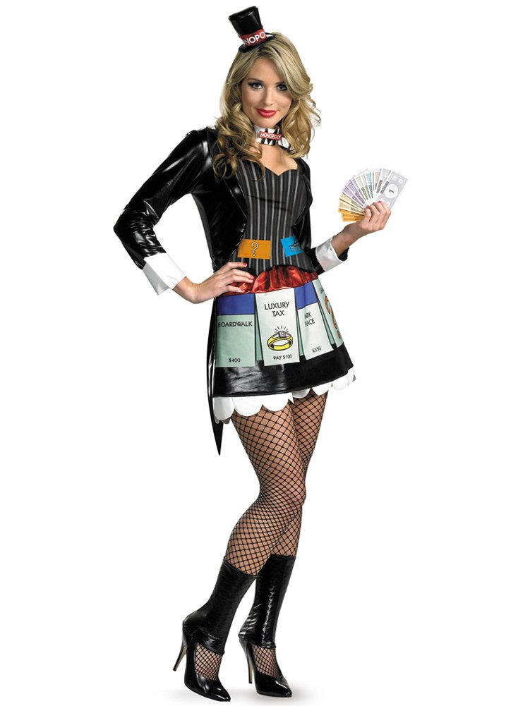 Click to buy Monopoly sexy board game Costume from Amazon!