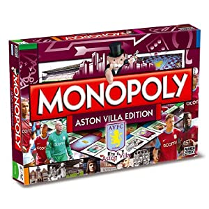 Click to buy Monopoly Aston Villa FC edition from Amazon!