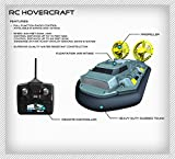 Toy Quest Remote Radio Control RC Hovercraft Land, Water AND Snow Speedster Boat