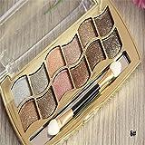 UltaPlay(TM)12 Colors Diamond Bright Colorful Eye Shadow Palette Super Flash Paleta De Maquiagem Glitter Eyeshadow...