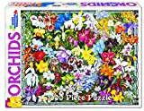 White Mountain Puzzles Orchids - 1000 Piece Jigsaw Puzzle