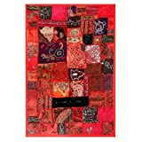 Redbag Carnival - Embroidered Wall Hanging (142.24 Cm, 96.52 Cm, 1.27 Cm)