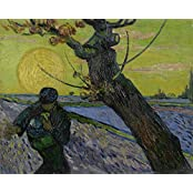 Tallenge - Vincent Van Gogh - The Sower - Large Size Unframed Rolled Digital Art Print On Photographic Paper For...