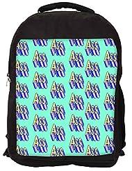 Snoogg Im An ASS Gift Backpack Rucksack School Travel Unisex Casual Canvas Bag Bookbag Satchel