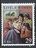 Little Women stamp, mint, never-hinged